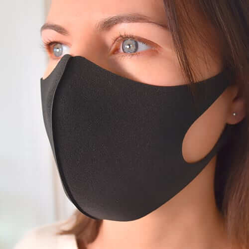 BLACK FOAM MASKS